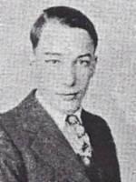 Yearbook image of Ernest Shepherd
