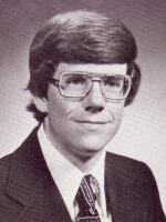 Yearbook image of Jim King