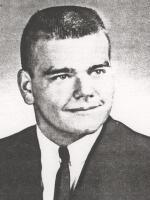 Yearbook image of Mike Woodward